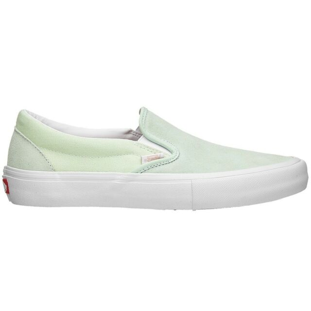 uk availability a104d 4f765 Vans Slip On Pro Ambrosia White Men s Classic Skate Shoes Size 11.5