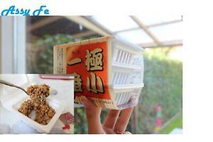 Natto Set De 3 Unidades 3 Unit Japonés Soja Fermentada Azuma Fermented Soybea Aussi Efficacement Qu'Une FéE