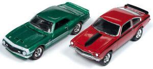 Yenko-1968-Camaro-1972-Vega-Twin-Pack-JOHNNY-LIGHTNING-DIE-CAST-1-64