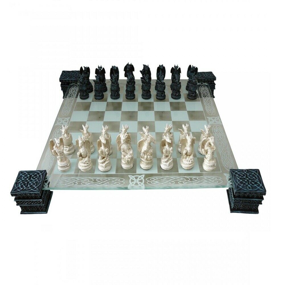 Dragon Chess Set NEMESIS NOW Dragons Board Games Chess