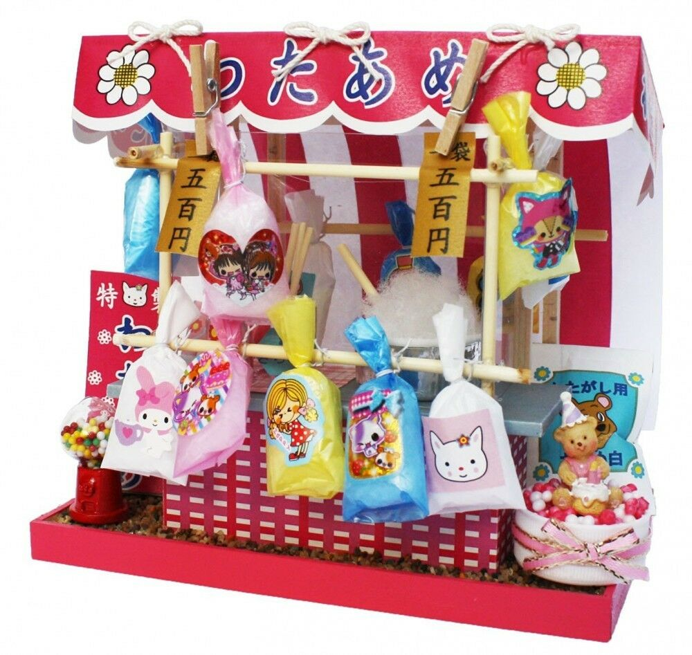 Kit de muñeca casa Billy hecho a mano japonés Retro Serie De Algodón De AzúCoche Shop Japón