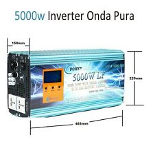 Inversor Onda Pura 24v 5000w Con Cargador 80A