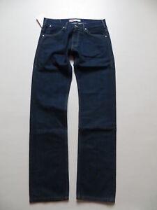 Levi-039-s-504-Herren-Jeans-Hose-W-32-L-34-NEU-sehr-robuster-Dark-Indigo-Denim