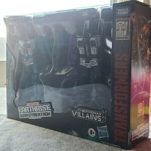 Transformers Earthrise Seeker Elite Thundercracker Skywarp Target Exclusive MISB