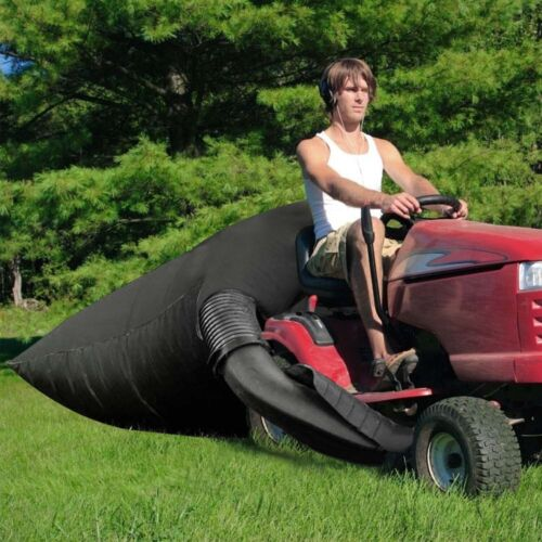 210D Lawn Tractor Leaf Bag Riding Mower Grass Sweeper Rubbish Bag 54 Cubic Feet