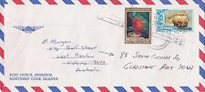 BD201) Penrhyn OHMS Air mail cover bearing:Sailing & Commonwealth Day. Price: $6