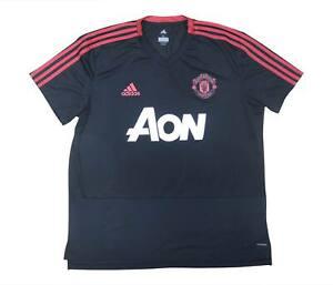 Manchester United 2018-19 originale camicia di formazione (eccellente) XL soccer jersey