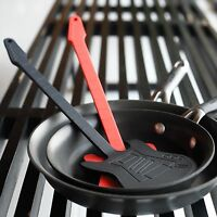 Gamago Guitar Spatula Red Or Black Metal With Silicone Coating Music Cooking