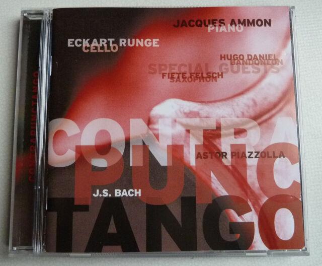 CD Eckart Runge (Cello) / Jacques Ammon (Piano), Contrapunctango  Piazolla/ Bach