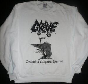 GRAVE-SWEAT-SHIRT-Swedish-death-metal-T-Entombed-MORBID-ANGEL-Dismember-S-XL