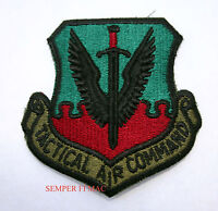 US AIR FORCE TACTICAL AIR COMMAND HAT PATCH AFB AIR COMBAT PIN UP USAF GIFT WOW
