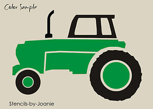 joanie country sm stencil 5 farm western new tractor implement