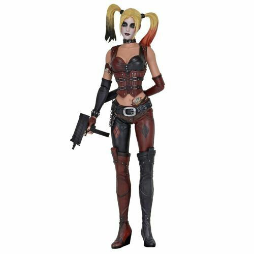 NECA 1:4 Scale Arkham City Harley Quinn Action Figure