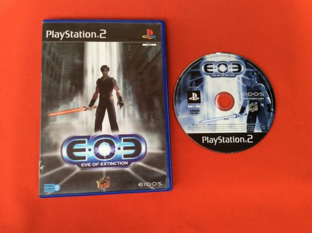 EOE EVE OF EXTINCTION PS2 PLAYSTATION 2 SONY EN BOITE PAL