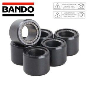 Set-6-Rouleaux-Variateur-Bando-16X13MM-6-5G-Kymco-50-Agility-4T-R12-2007-2013