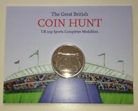 2012 London olympic 50p Sports Completer Medallion Album Coin Hunt
