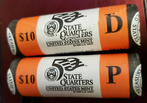 2006-P Mint Wrapped Roll of 40 Nevada State Quarters Unopened /& Unsearched