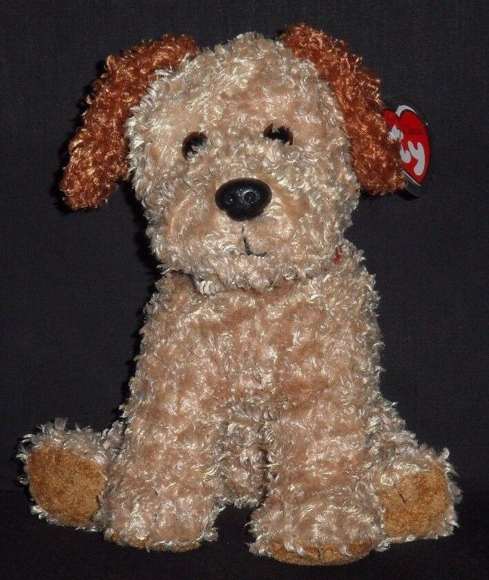 TY CLASSIC PLUSH BRODIE THE DOG - MINT with MINT TAGS