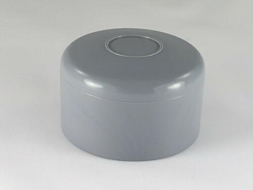 KAPPEN für RUNDPFOSTEN Pfosten Abdeckkappen Kunststoff 2 Zoll 60,3 mm