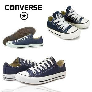 Converse-Navy-estimados-para-hombre-Kids-All-Stars-Chicos-Chicas-Chuck-Taylor-Zapatillas-Zapatos