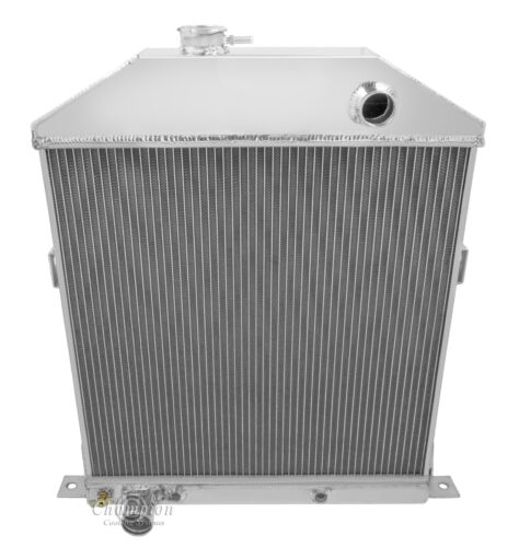 1942 43 44 45 46 47 48 Ford Mercury Cpe Ford Config 3 Row Core Alum Radiator