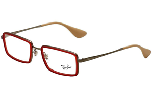 Ray-Ban-RX6337-2856-51MM-Eyeglasses-Rubber-Red-51mm-Optical-Frame