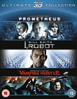 Prometheus I Robot Abraham Lincoln Vampire Hunter 5039036062886 Blu Ray