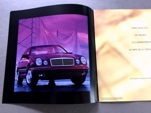 1997 Mercedes Benz E420 16-page Original Car Sales Brochure Catalog