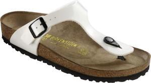Sandalo-Infradito-Birkenstock-Gizeh-Donna-Bianco-1005299