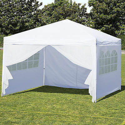 Best Choice Products 10' x 10' EZ Pop Up Canopy Tent Side Walls & Carrying Bag