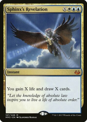 Sphinx/'s Revelation Modern Masters 2017 NM Mythic Rare CARD ABUGames
