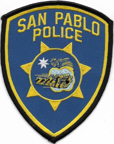 CALIFORNIA  San Pablo  Police Patch Polizei Abzeichen Kalifornien  Aufnäher