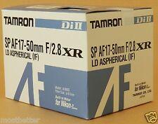 New Tamron SP AF16N II AF17-50mm F2.8 Di II LD Aspherical Lens For Nikon
