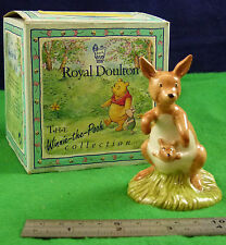 ROYAL DOULTON THE WINNIE THE POOH COLLECTION KANGA AND ROO WP8 D003