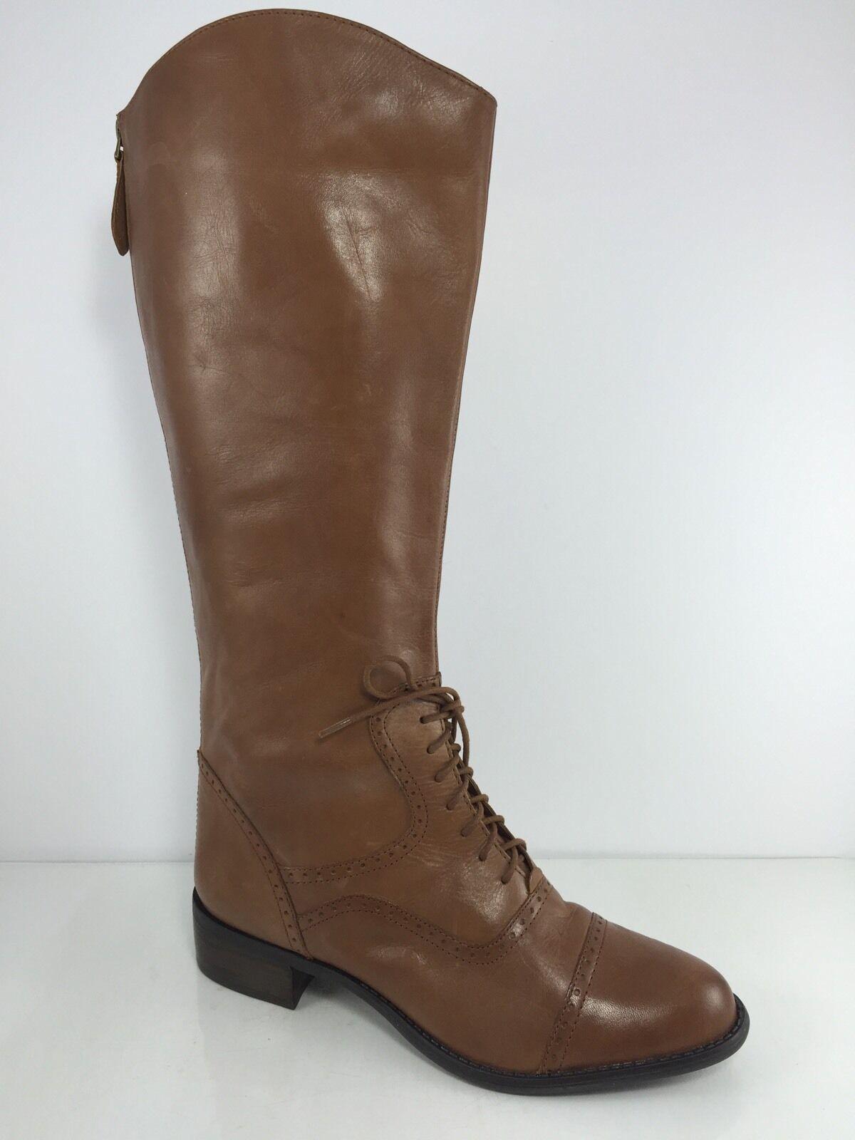 Franco Sarto donna Marronee Leather Knee stivali 10 M