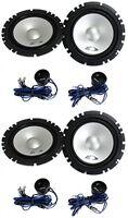 4) Alpine Sxe-1750s 6.5 560w Car 2 Way Component Audio Speakers Stereo Sxe1750s