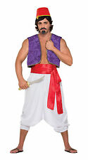 Adult Desert Prince Trousers Men Aladdin Genie Harem Pants Fancy Dress Accessory