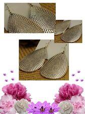 Ginatricot (Kohl's) Vintage Silver Alloy Hook & Teardrop Dangle Earrings Jewelry