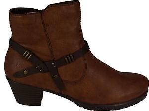 RIEKER Schuhe Stiefeletten Western Style Braun Ef5xR
