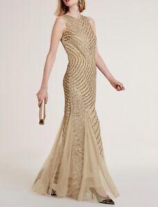 100% echt suchen bestbewerteter Beamter Details zu HEINE Abendkleid mit Pailletten Dress UP! FESTLICH GLAMOURÖS GR  40 NEU CHIC!!