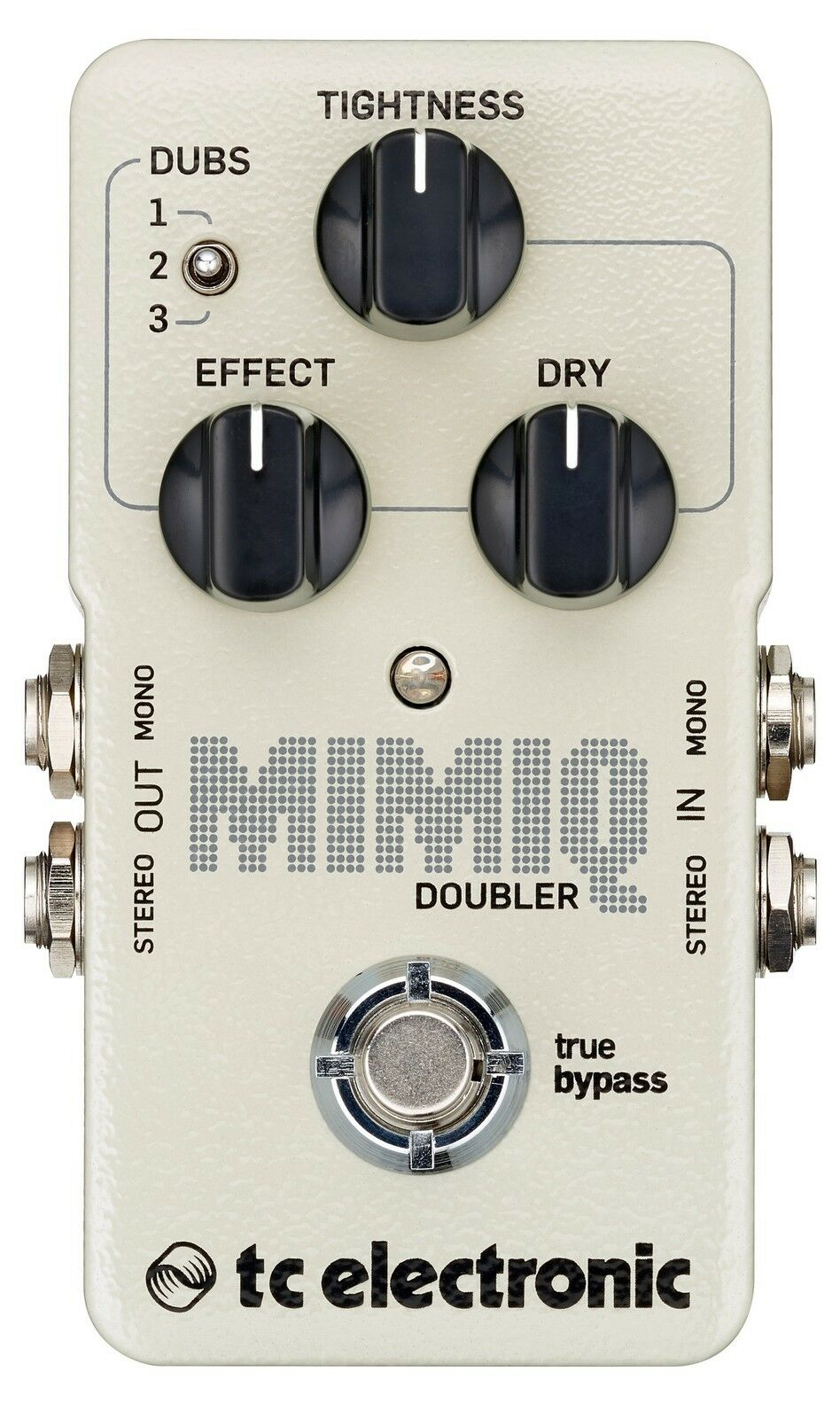 New TC Electronic Mimiq Doubler Guitar Effects Pedal