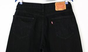 Levi's Strauss & Co Hommes 505 Droit Jambe Jeans Standard Taille W33 L36 ASZ1574
