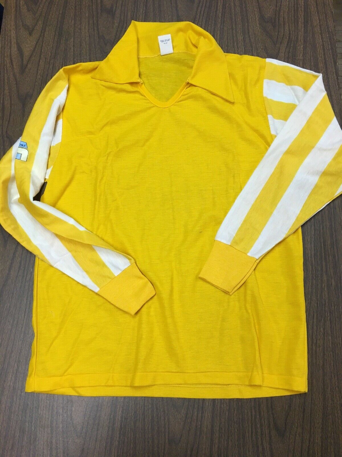 Vintage Rare 60s 70s Grenoble Knitwear Inc US SOCCER FEDERATION Xl Jersey Polo