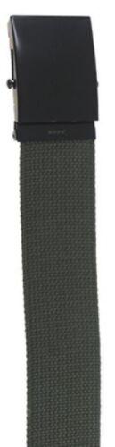 130cm Stoffgürtel Gürtel oliv schwarz o Hosengürtel Koppel 4.5cm Breite beige