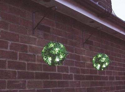 Doeltreffend Gardenwize Garden Porch Yard 23cm Solar Led Light Hanging Bay Balls Basket #75