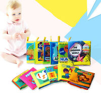 Baby Educational Intelligence Development Soft Cloth Cognize Book Toy For Kids