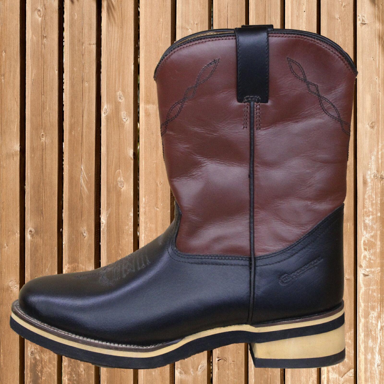 Continental Western Stiefel, Westernstiefel, Continental, Western, braun-schwarz