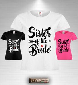 Frasi Matrimonio Sorella.T Shirt Frasi Matrimonio Sorella Sposa Nubilato Festa Fiducia