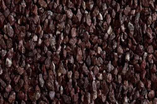 Gartensplitt Ziersplitt Porfido Rosso Granulat Marrone 12-16 mm 25 kg
