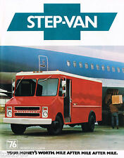 item 1 1976 chevy step-van brochure/catalog:p10,p20,p30,forward  control,cp208,cp308,105 -1976 chevy step-van  brochure/catalog:p10,p20,p30,forward control